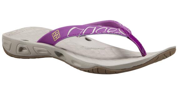 Columbia Sunbreeze Vent Flip Shoes Women Razzle, Zour